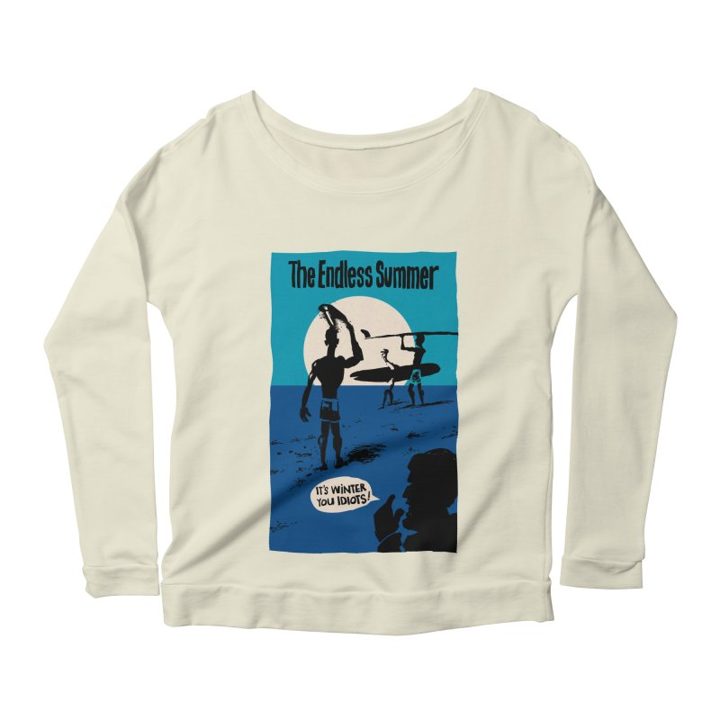 Endless Summer? Women's Longsleeve Scoopneck  by stephencase's Artist Shop