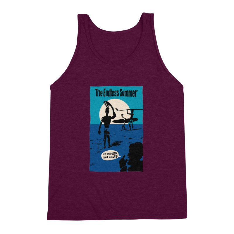Endless Summer? Men's Triblend Tank by stephencase's Artist Shop