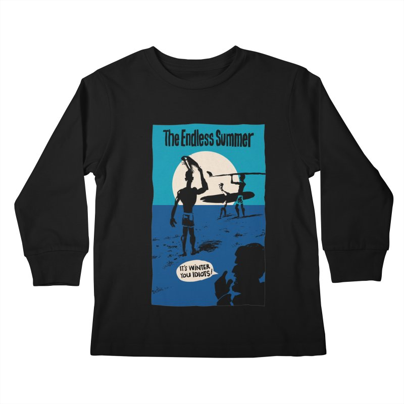 Endless Summer? Kids Longsleeve T-Shirt by stephencase's Artist Shop