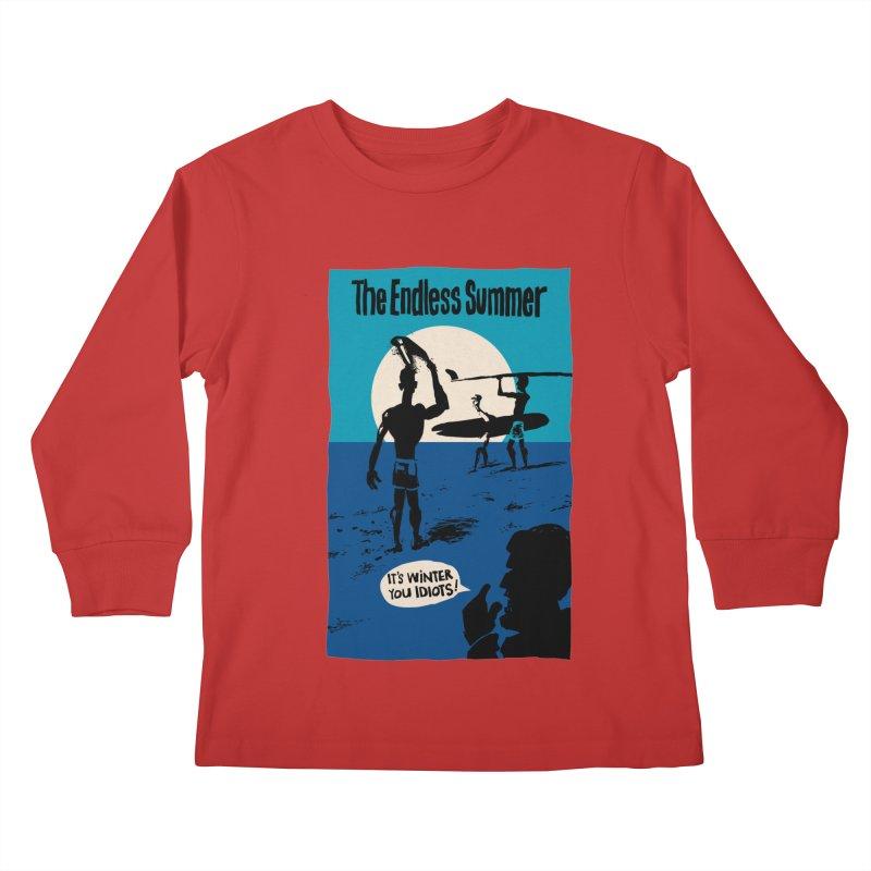 Endless Summer? Kids Longsleeve T-Shirt by stephencase's Artist Shop