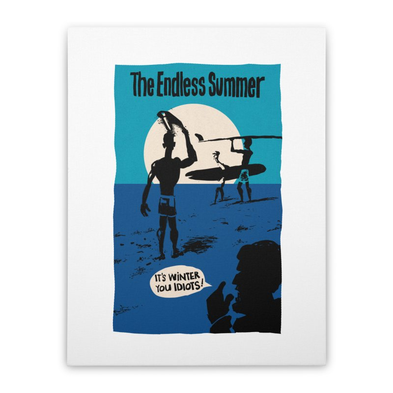 Endless Summer? Home Stretched Canvas by stephencase's Artist Shop