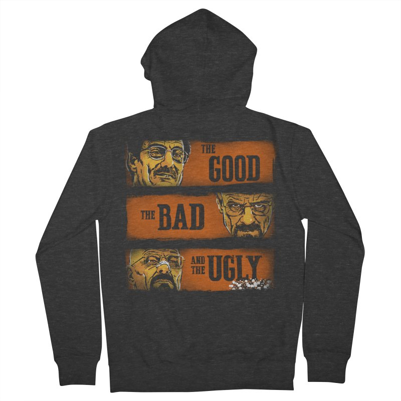 The Good, the Breaking Bad and the Ugly Men's Zip-Up Hoody by stephencase's Artist Shop