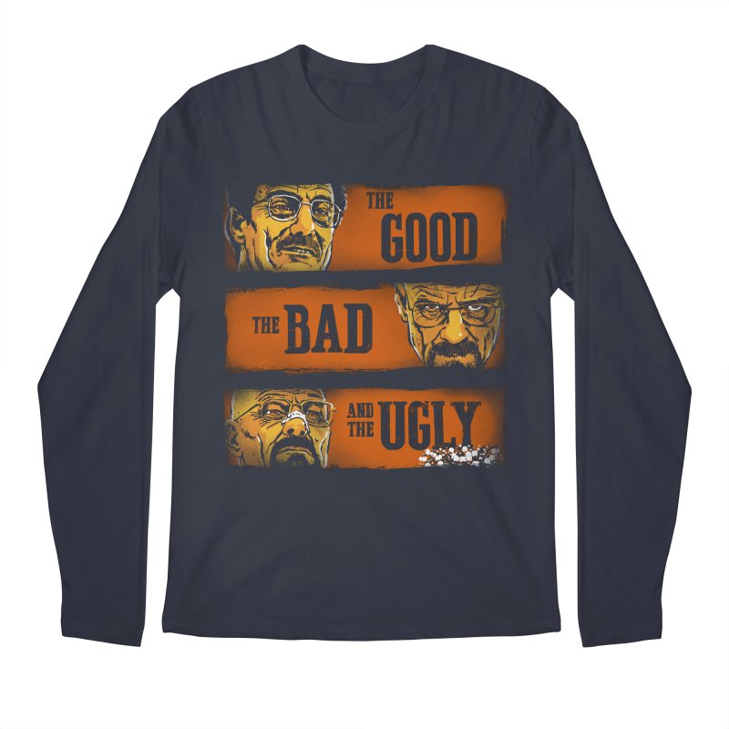 The Good, the Breaking Bad and the Ugly Men's Longsleeve T-Shirt by stephencase's Artist Shop