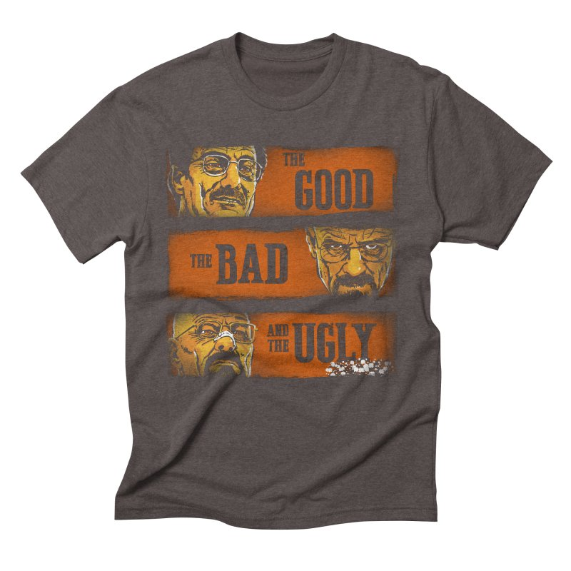 The Good, the Breaking Bad and the Ugly Men's Triblend T-shirt by stephencase's Artist Shop