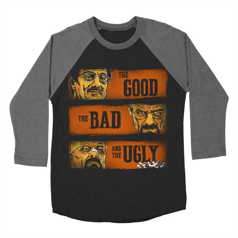 The Good, the Breaking Bad and the Ugly Women's Baseball Triblend T-Shirt by stephencase's Artist Shop