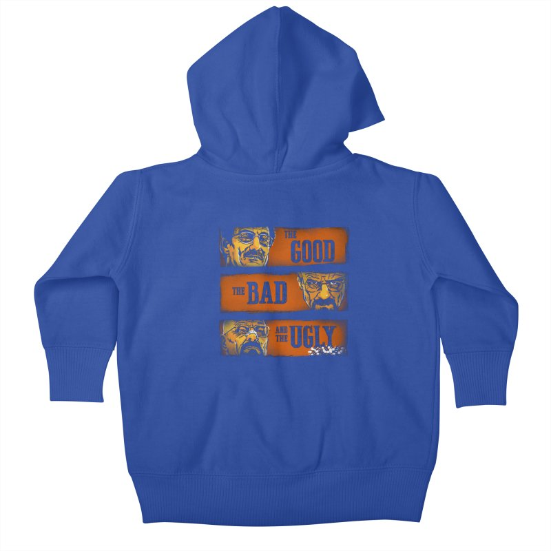 The Good, the Breaking Bad and the Ugly Kids Baby Zip-Up Hoody by stephencase's Artist Shop