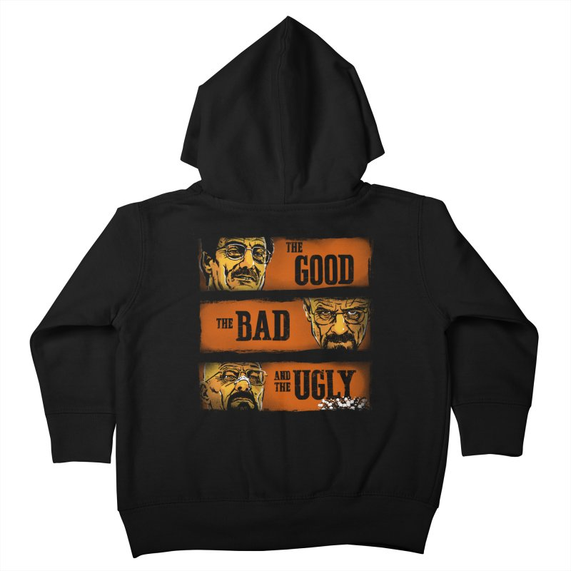 The Good, the Breaking Bad and the Ugly Kids Toddler Zip-Up Hoody by stephencase's Artist Shop