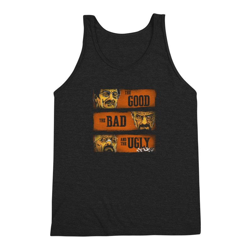The Good, the Breaking Bad and the Ugly Men's Triblend Tank by stephencase's Artist Shop