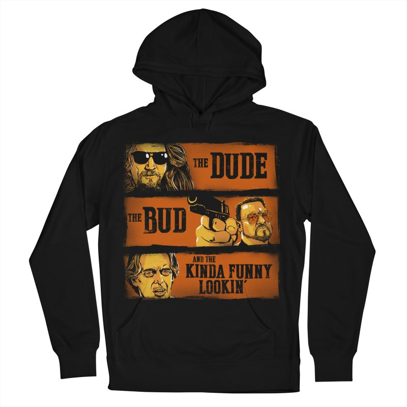 The Dude, the Bud and the Kinda Funny Lookin' Men's Pullover Hoody by stephencase's Artist Shop