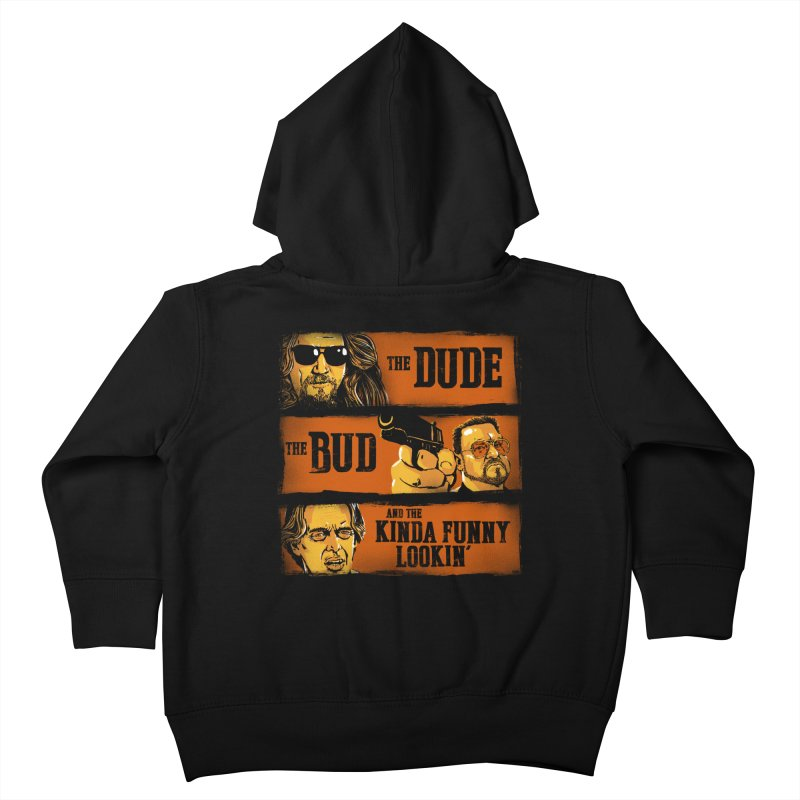 The Dude, the Bud and the Kinda Funny Lookin' Kids Toddler Zip-Up Hoody by stephencase's Artist Shop