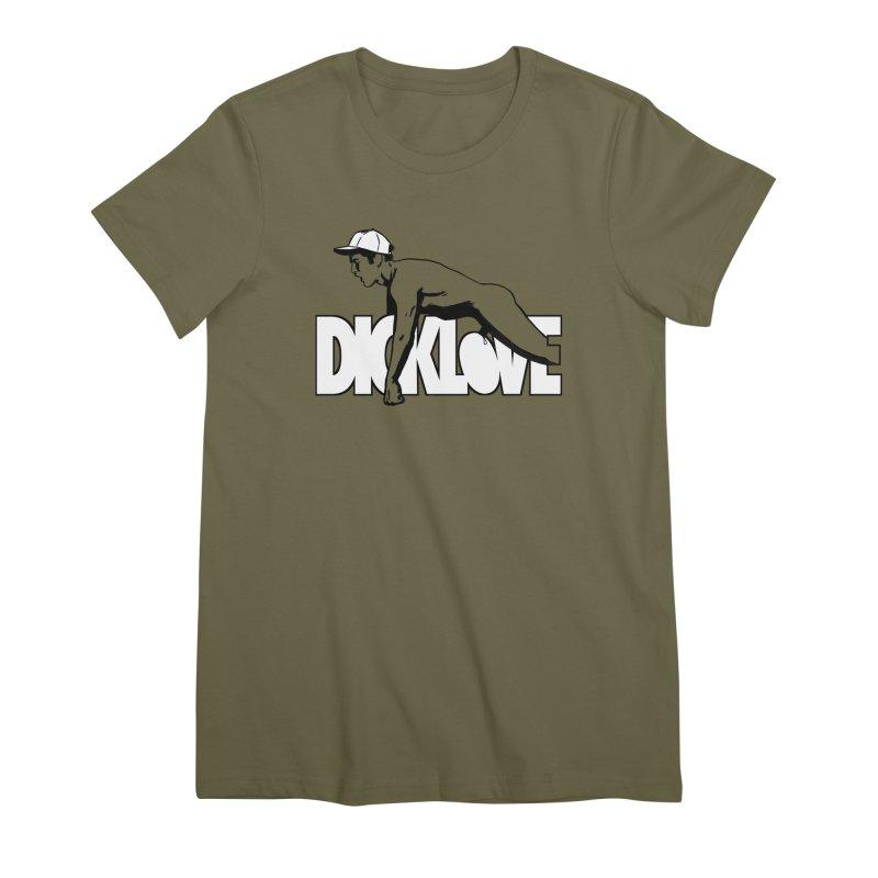 D*CKLOVE Women's Premium T-Shirt by Stephen Draws's Artist Shop