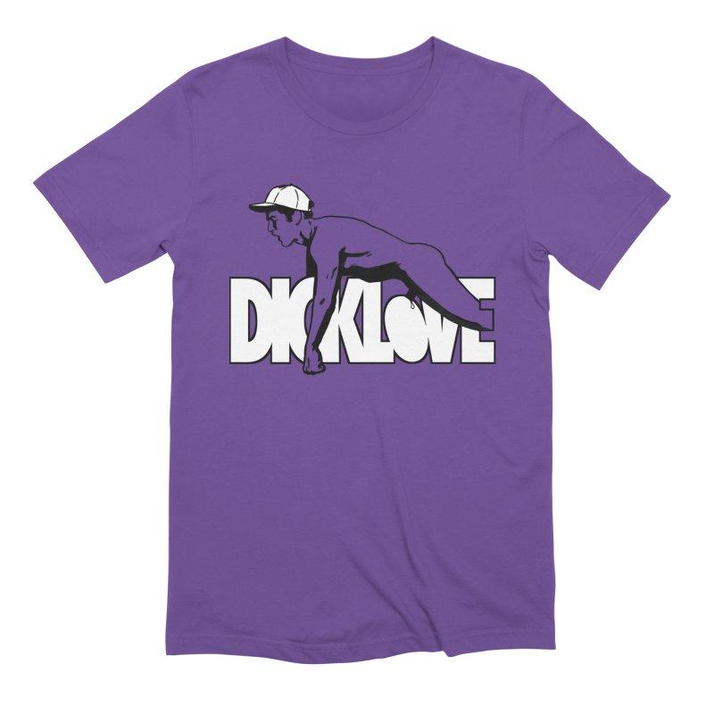 D*CKLOVE Men's Extra Soft T-Shirt by Stephen Draws's Artist Shop