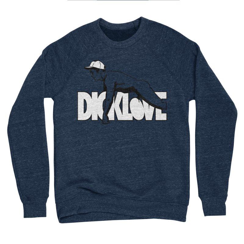 D*CKLOVE Men's Sponge Fleece Sweatshirt by Stephen Draws's Artist Shop