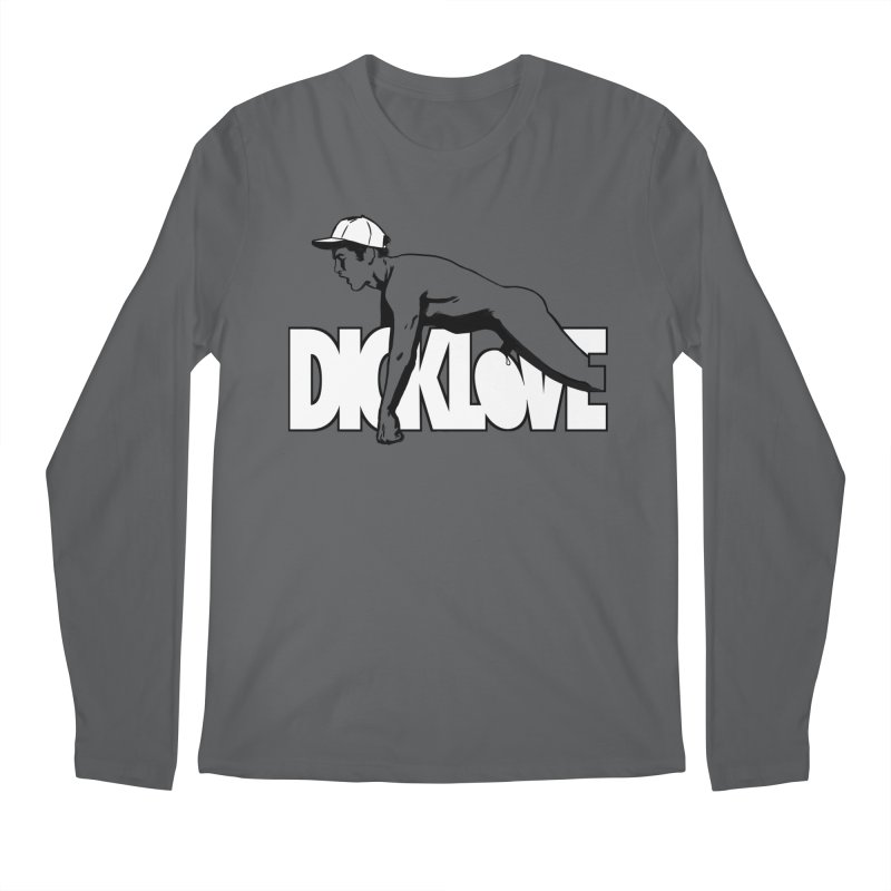 D*CKLOVE Men's Longsleeve T-Shirt by Stephen Draws's Artist Shop