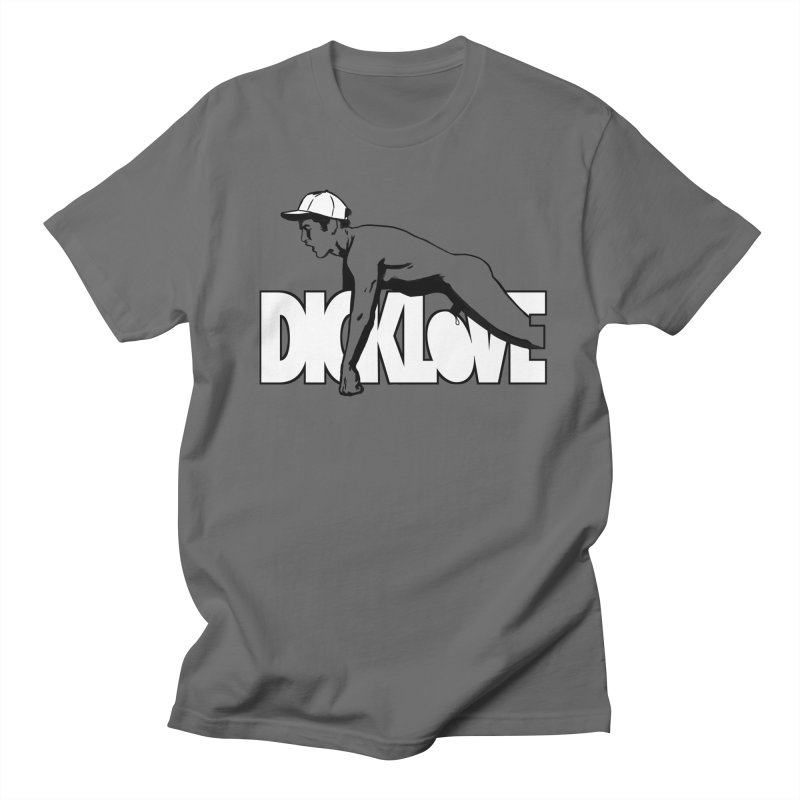 D*CKLOVE Men's T-Shirt by Stephen Draws's Artist Shop