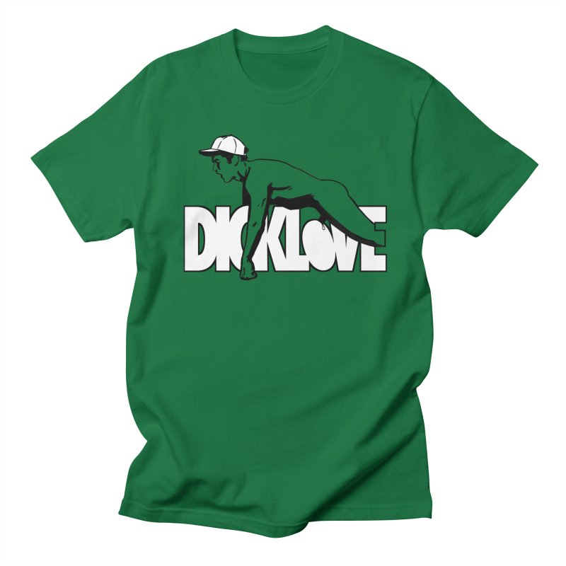 D*CKLOVE Men's Regular T-Shirt by Stephen Draws's Artist Shop