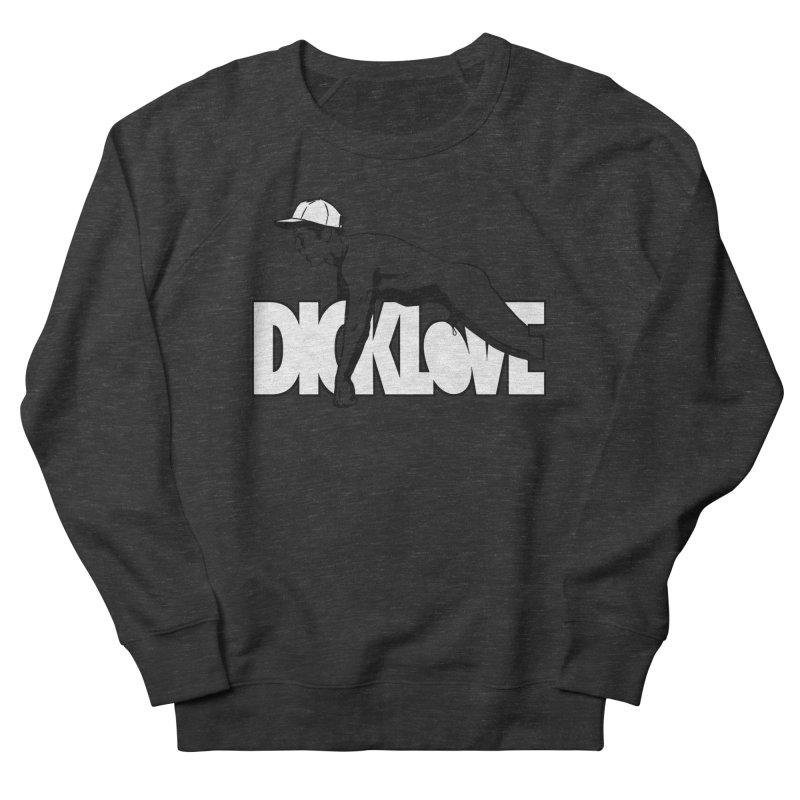 D*CKLOVE Men's French Terry Sweatshirt by Stephen Draws's Artist Shop