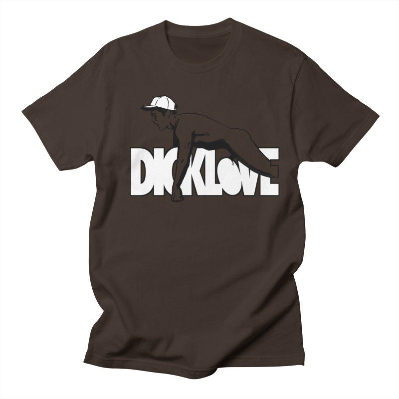 D*CKLOVE Men's Regular T-Shirt by Stephen Draws's Artist Shop