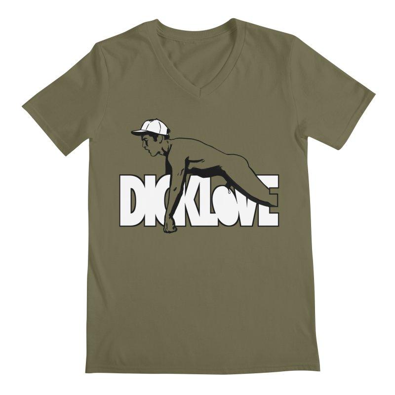 D*CKLOVE Men's V-Neck by Stephen Draws's Artist Shop