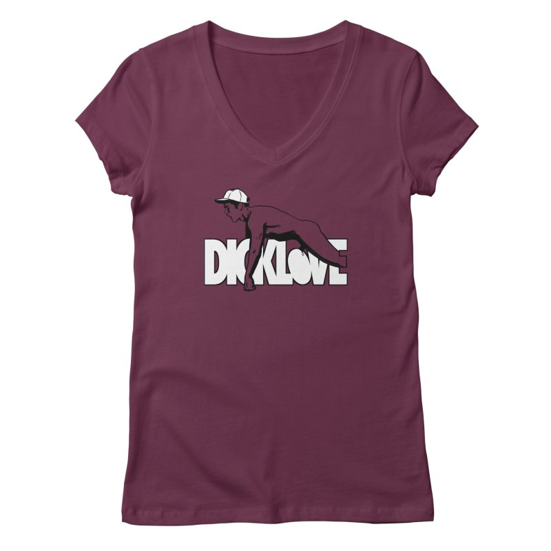 D*CKLOVE Women's Regular V-Neck by Stephen Draws's Artist Shop