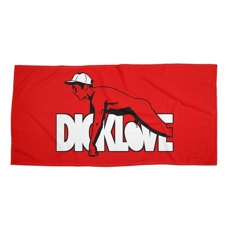 D*CKLOVE Accessories Beach Towel by Stephen Draws's Artist Shop