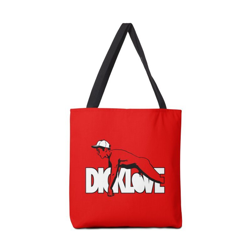 D*CKLOVE Accessories Tote Bag Bag by Stephen Draws's Artist Shop