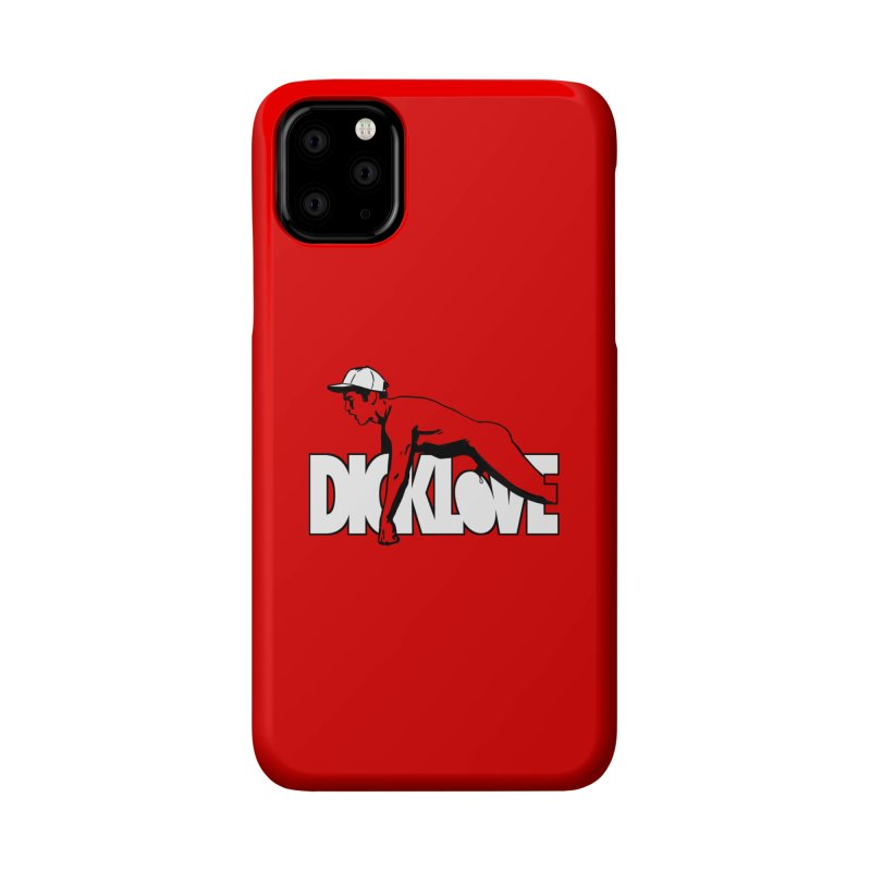 D*CKLOVE Accessories Phone Case by Stephen Draws's Artist Shop