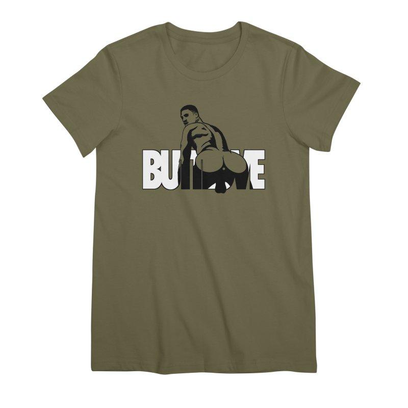 BUTTLOVE Women's Premium T-Shirt by Stephen Draws's Artist Shop