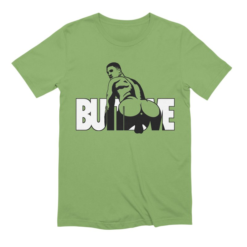 BUTTLOVE Men's Extra Soft T-Shirt by Stephen Draws's Artist Shop