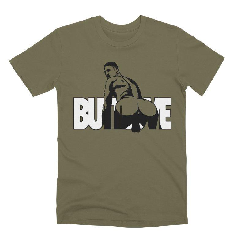 BUTTLOVE Men's Premium T-Shirt by Stephen Draws's Artist Shop