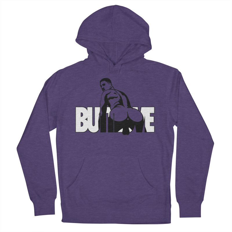 BUTTLOVE Women's French Terry Pullover Hoody by Stephen Draws's Artist Shop