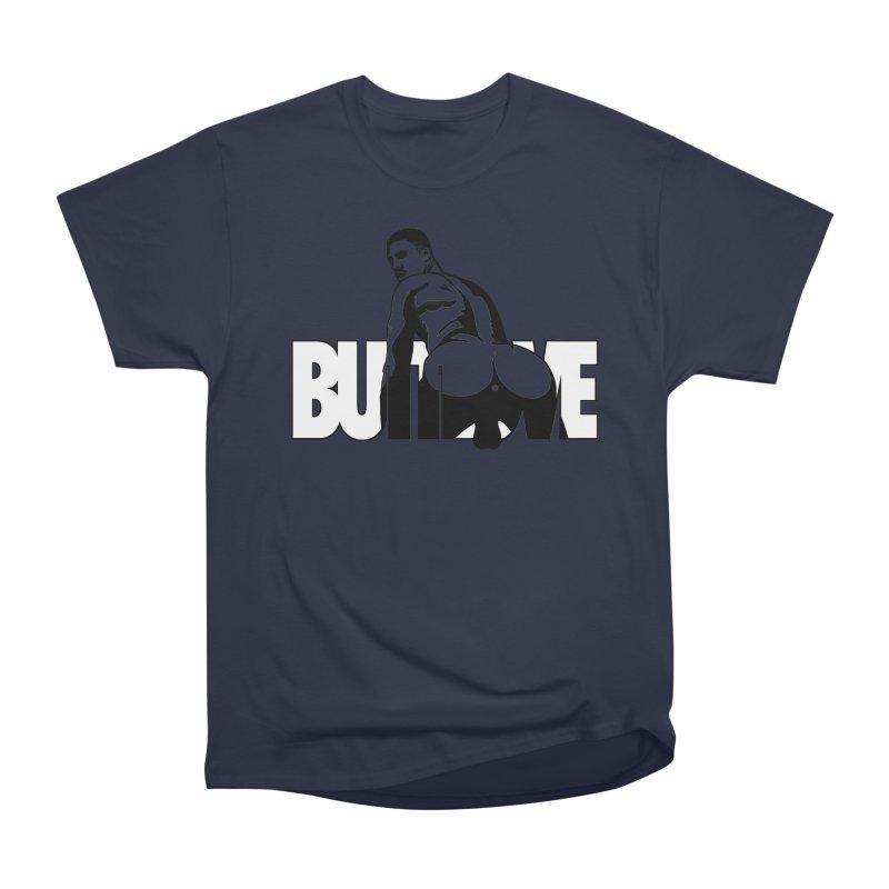BUTTLOVE Men's Heavyweight T-Shirt by Stephen Draws's Artist Shop