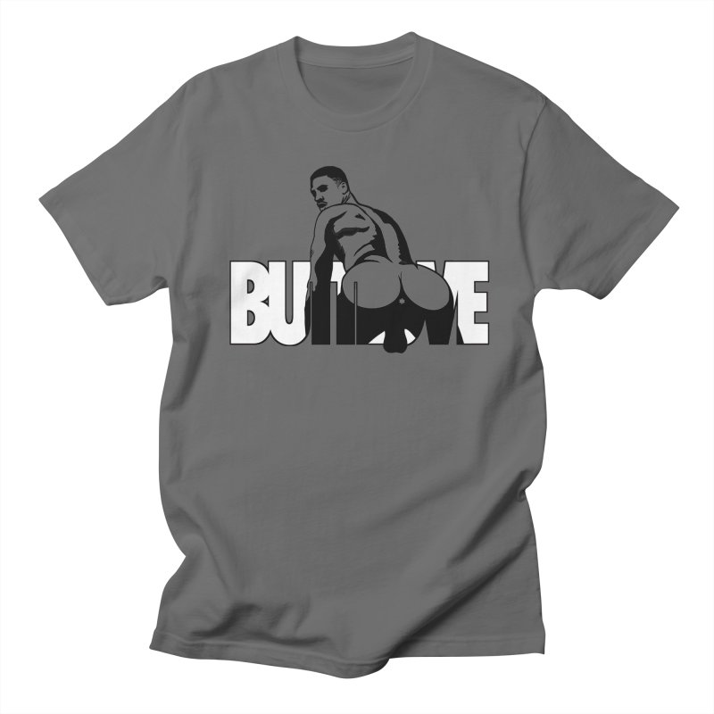 BUTTLOVE Men's T-Shirt by Stephen Draws's Artist Shop