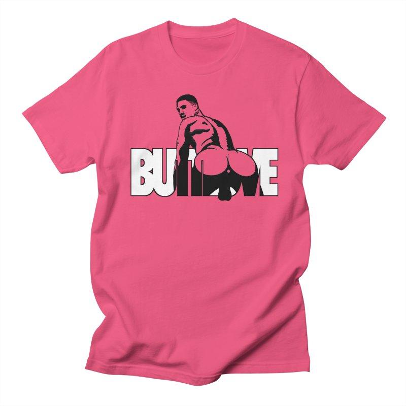 BUTTLOVE Men's Regular T-Shirt by Stephen Draws's Artist Shop