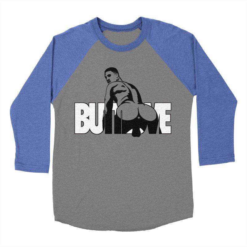 BUTTLOVE Women's Baseball Triblend Longsleeve T-Shirt by Stephen Draws's Artist Shop