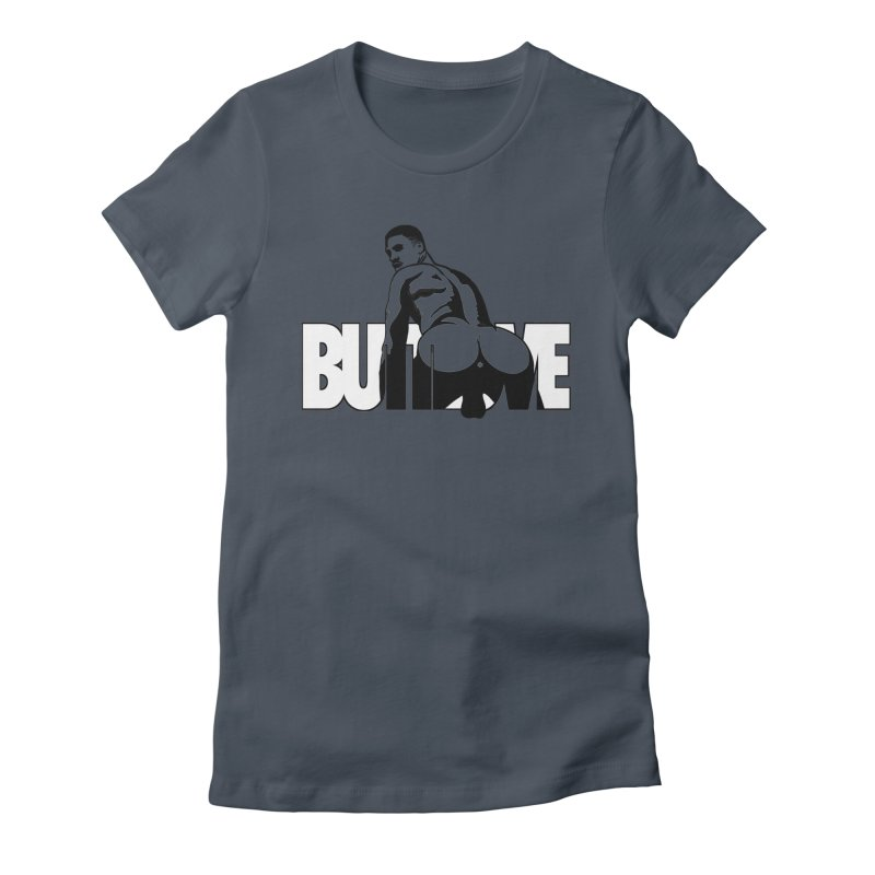 BUTTLOVE Women's T-Shirt by Stephen Draws's Artist Shop