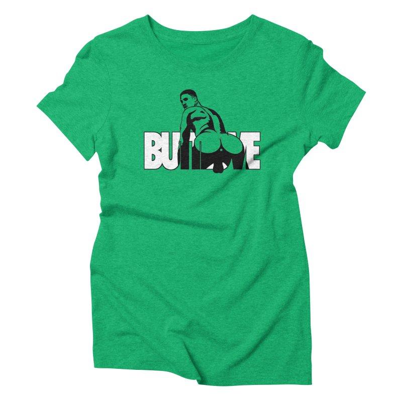 BUTTLOVE Women's Triblend T-Shirt by Stephen Draws's Artist Shop