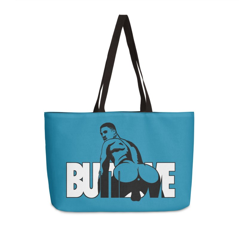 BUTTLOVE Accessories Weekender Bag Bag by Stephen Draws's Artist Shop