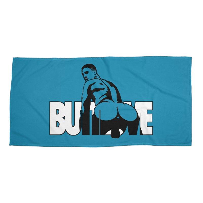 BUTTLOVE Accessories Beach Towel by Stephen Draws's Artist Shop