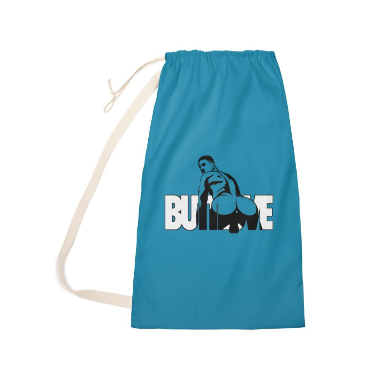 BUTTLOVE Accessories Laundry Bag Bag by Stephen Draws's Artist Shop