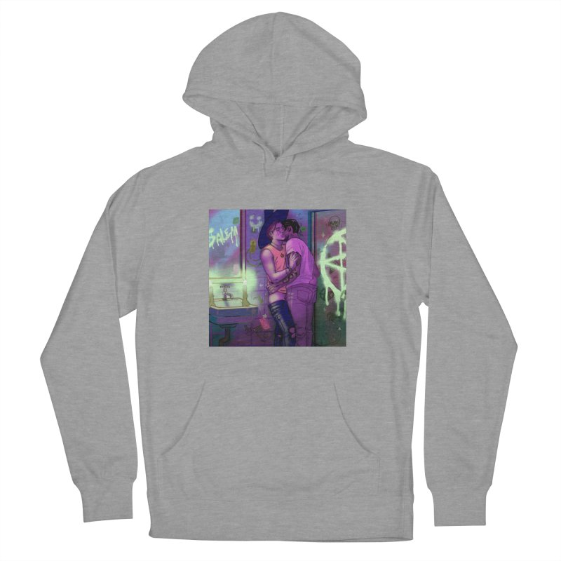 WE ALWAYS HAVE SALEM Men's French Terry Pullover Hoody by Stephen Draws's Artist Shop
