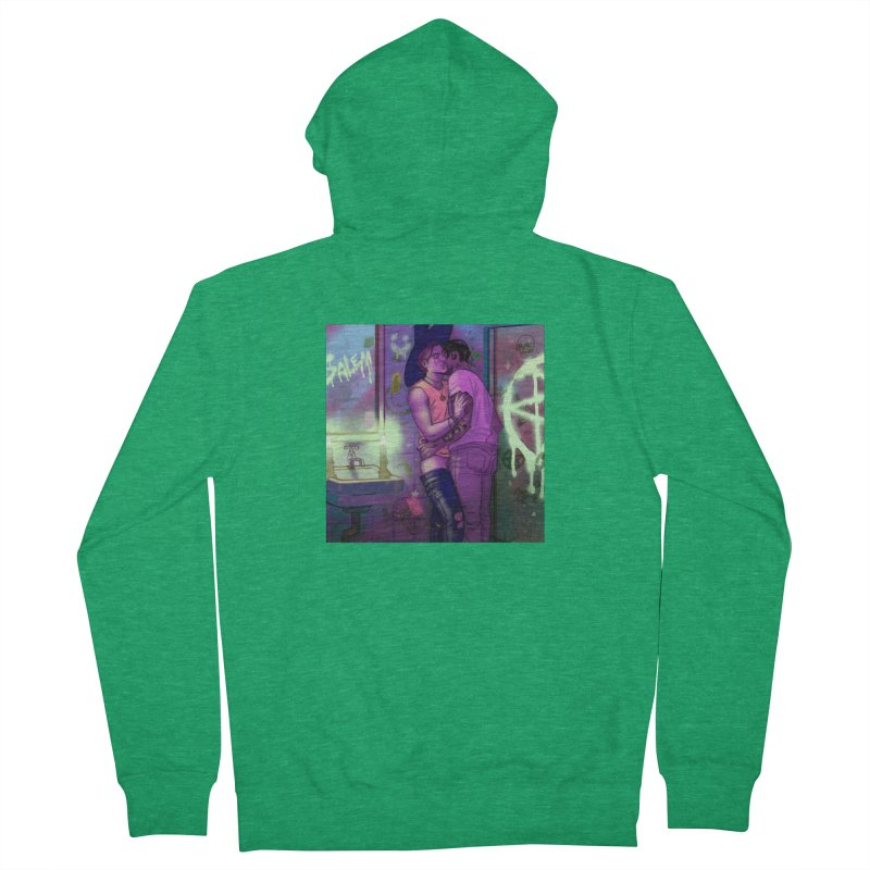WE ALWAYS HAVE SALEM Women's French Terry Zip-Up Hoody by Stephen Draws's Artist Shop