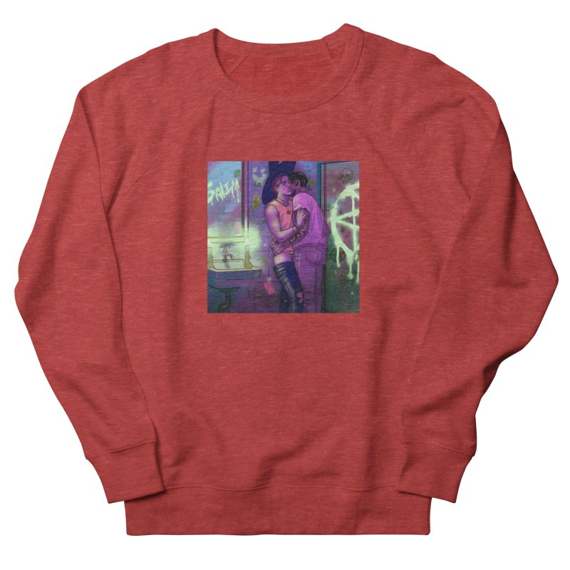 WE ALWAYS HAVE SALEM Men's French Terry Sweatshirt by Stephen Draws's Artist Shop