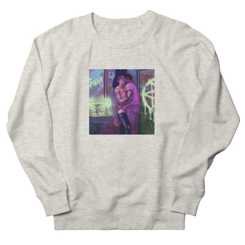 WE ALWAYS HAVE SALEM Men's French Terry Sweatshirt by Stephen Draws's Artist Shop
