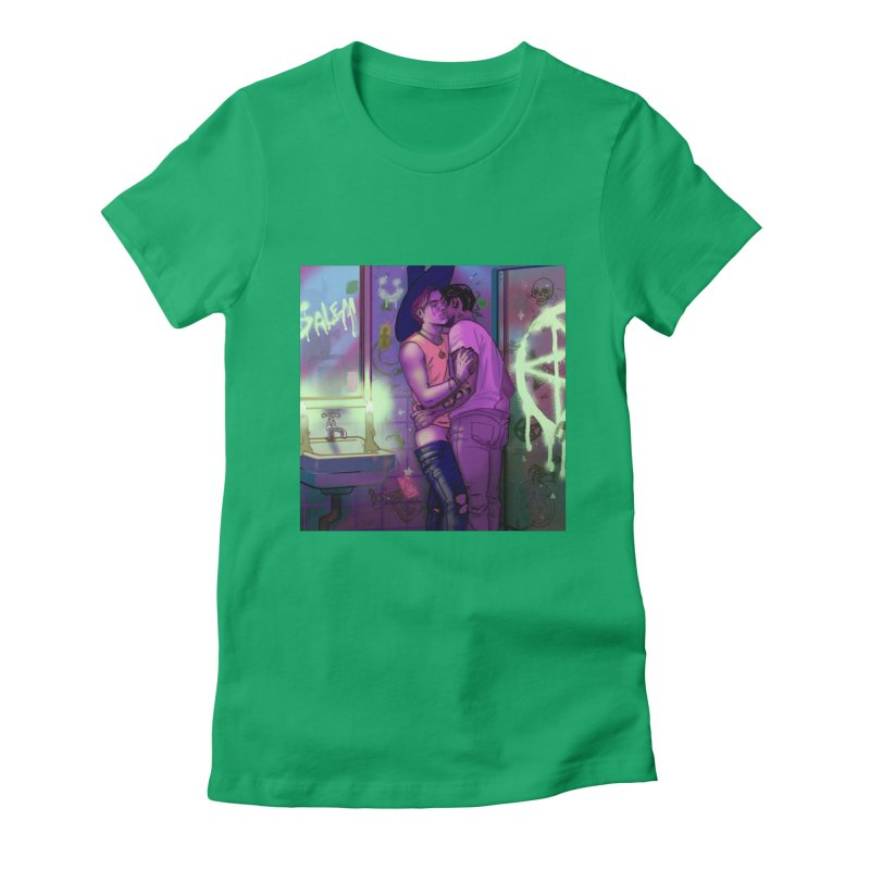WE ALWAYS HAVE SALEM Women's Fitted T-Shirt by Stephen Draws's Artist Shop