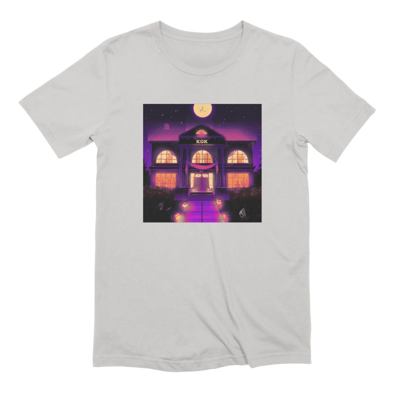 FRIGHTENING FRATHOUSE Men's Extra Soft T-Shirt by Stephen Draws's Artist Shop