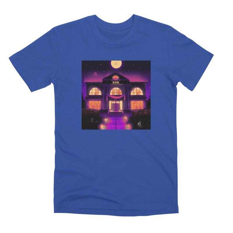 FRIGHTENING FRATHOUSE Men's Premium T-Shirt by Stephen Draws's Artist Shop