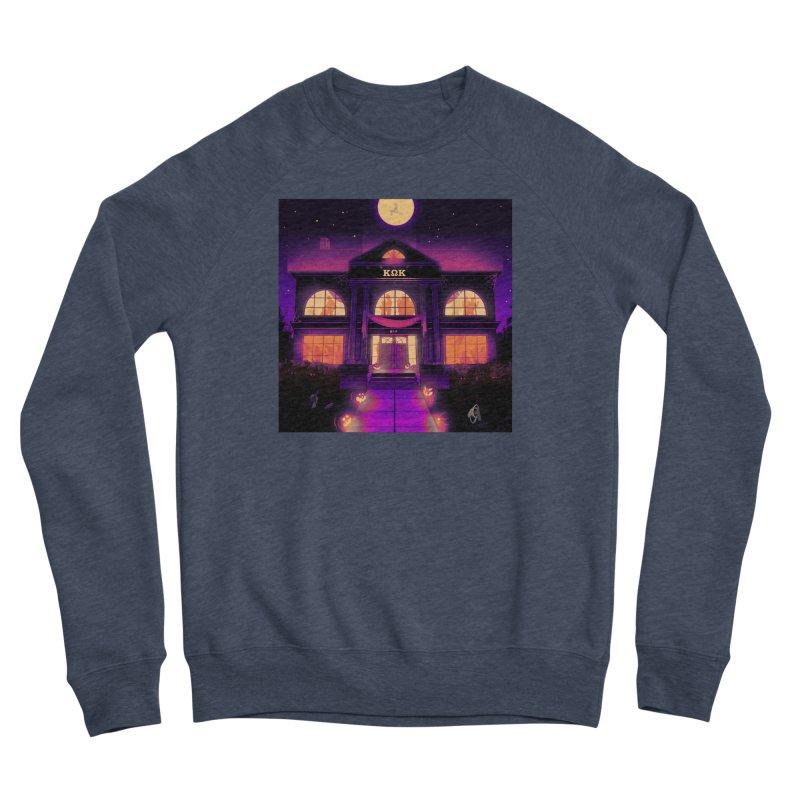 FRIGHTENING FRATHOUSE Women's Sponge Fleece Sweatshirt by Stephen Draws's Artist Shop