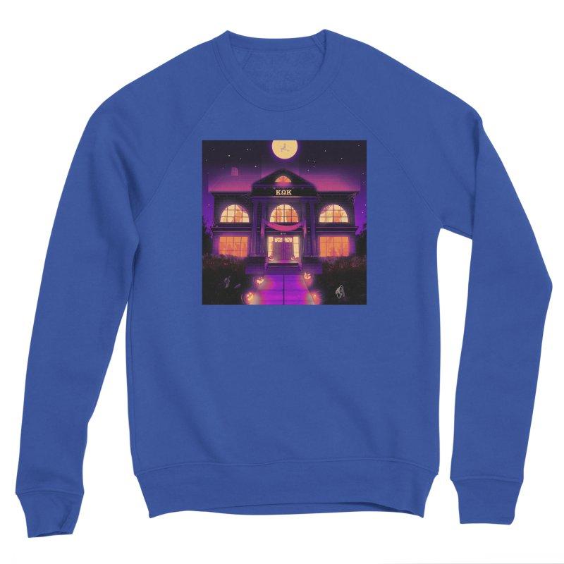 FRIGHTENING FRATHOUSE Men's Sponge Fleece Sweatshirt by Stephen Draws's Artist Shop