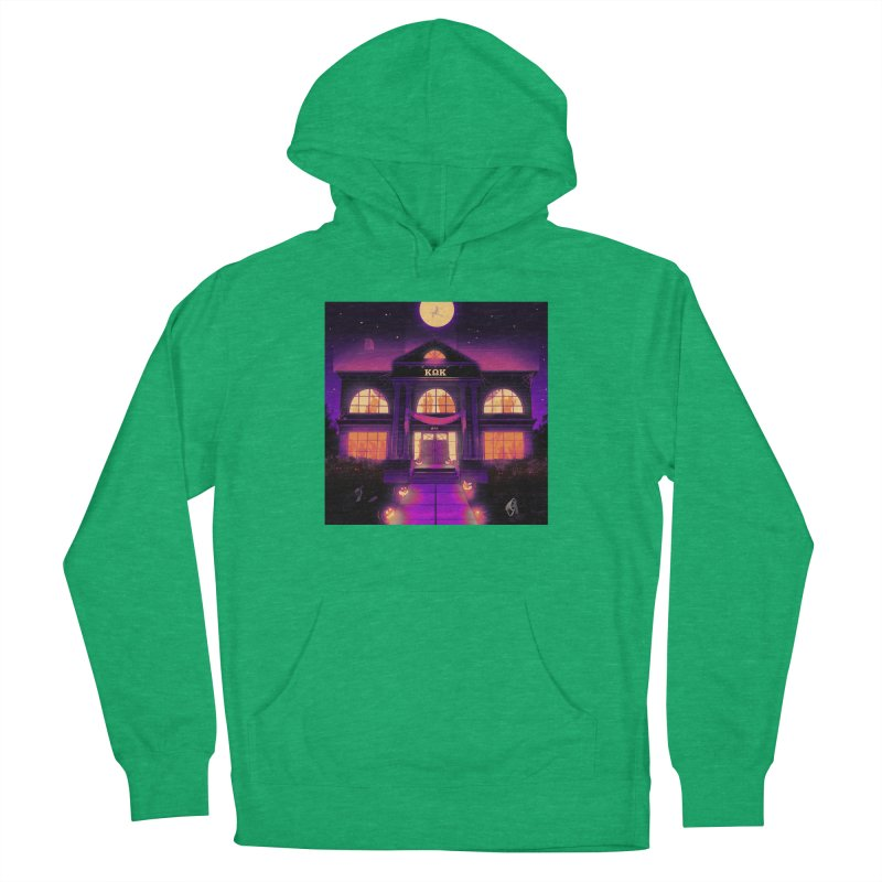 FRIGHTENING FRATHOUSE Women's French Terry Pullover Hoody by Stephen Draws's Artist Shop